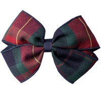 Carrington Plaid Hairbow