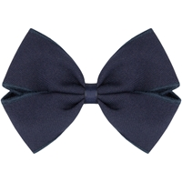 Navy Tropical Hairbow