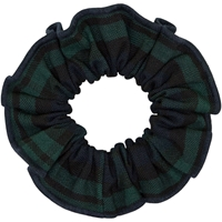 Blackwatch Plaid Hair Scrunchy