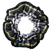 Carden Plaid Hair Scrunchy