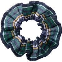 Christopher Plaid Hair Scrunchy