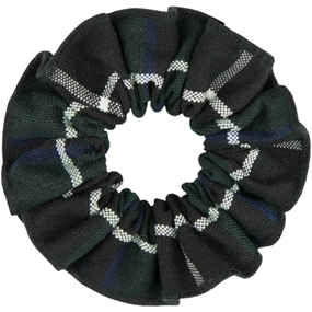 Columbia Plaid Hair Scrunchy