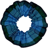 Douglas Plaid Hair Scrunchy