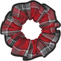 Fairmont Plaid Hair Scrunchy