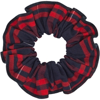 Hamilton Plaid Hair Scrunchy