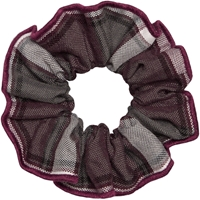 James Plaid Hair Scrunchy