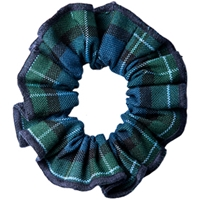 Kirk Plaid Hair Scrunchy