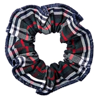 Lloyd Plaid Hair Scrunchy