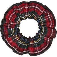 Macbeth Plaid Hair Scrunchy