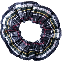 Marymount Plaid Hair Scrunchy