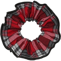 McDonald Plaid Hair Scrunchy