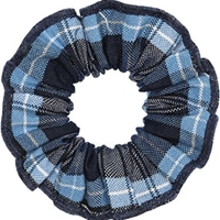 RR Plaid Hair Scrunchy