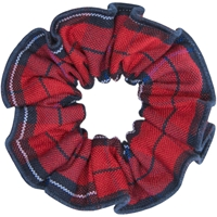 Woodland Plaid Hair Scrunchy