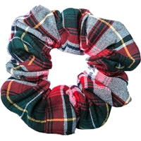 Bruce Plaid Hair Scrunchy