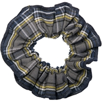 LL Plaid Hair Scrunchy