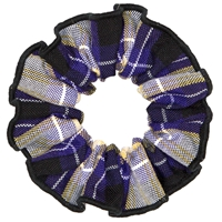 Fremont Plaid Hair Scrunchy