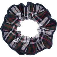 Patricia Plaid Hair Scrunchy