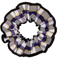 Arlington Plaid Hair Scrunchy