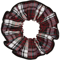 Charleston Plaid Hair Scrunchy