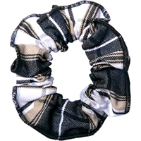 Langley Plaid Hair Scrunchy