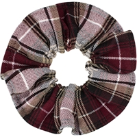 Manchester Plaid Hair Scrunchy