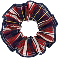 Ridgeland Plaid Hair Scrunchy