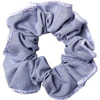 Light Navy Hair Scrunchy