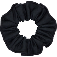 Navy Tropical Hair Scrunchy