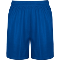 Royal Mini Mesh Athletic Shorts with School Logo