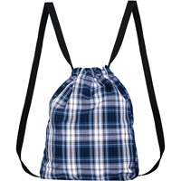RR Plaid Cinch Pack
