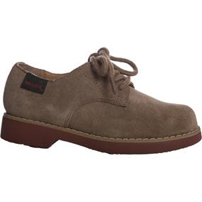 Tan Buck Suede Shoe Medium Width