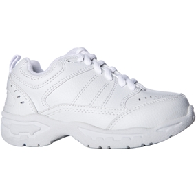 White Casual Shoe Tri Width