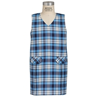 RR Plaid Box Pleated Shift