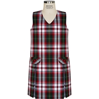 Bruce Plaid Box Pleated Shift