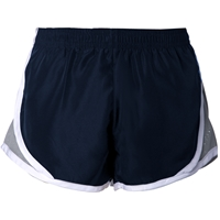Navy Athletic Short with School Logo