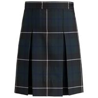 Columbia Plaid Box Pleated Skirt