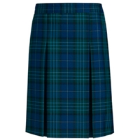 Kirk Plaid Box Pleated Skirt