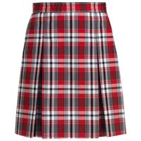 Mcdonald Plaid Box Pleated Skirt