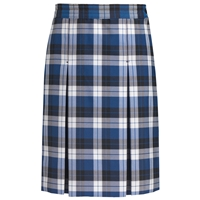Morris Plaid Box Pleated Skirt