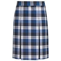 Morris Plaid Box Pleated Skirt