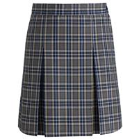 LL Plaid Box Pleated Skirt