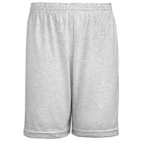Ash Jersey Knit Athletic Short with School Logo