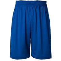 Royal Jersey Knit Athletic Short with School Logo