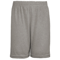 Sports Grey Jersey Knit Athletic Short with School Logo