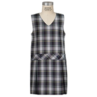 Campbell Plaid Box Pleated Shift
