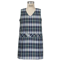 Christopher Plaid Box Pleated Shift
