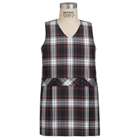 Lloyd Plaid Box Pleated Shift