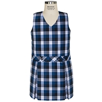 Morris Plaid Box Pleated Shift