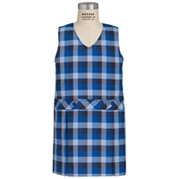 Hastings Plaid Box Pleated Shift