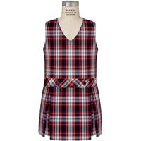 Liberty Plaid Box Pleated Shift
